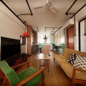 3 room HDB Residential Fengshui Analysis Image